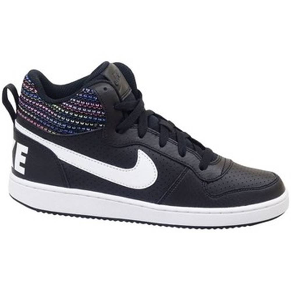 Nike Členkové tenisky Nike  Court Borough Mid SE GS