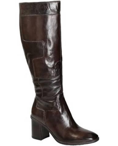 Čižmy do mesta Leonardo Shoes  270312 CACAO