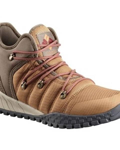 Hnedé topánky Columbia