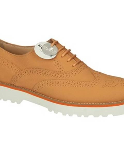 Oranžové topánky Hogan