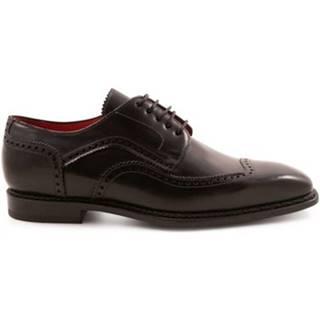 Derbie Leonardo Shoes  5212 MONTECARLO NERO