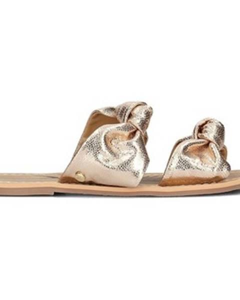 Zlaté topánky Pepe jeans
