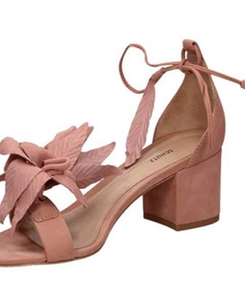 Ružové topánky Schutz