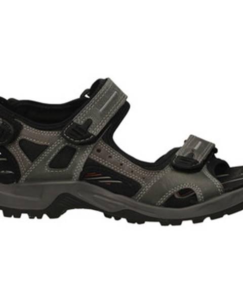 Modré športové sandále Ecco