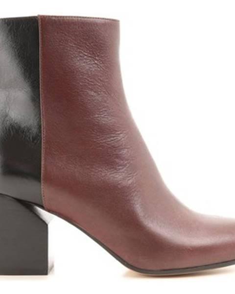 Hnedé topánky Maison Margiela