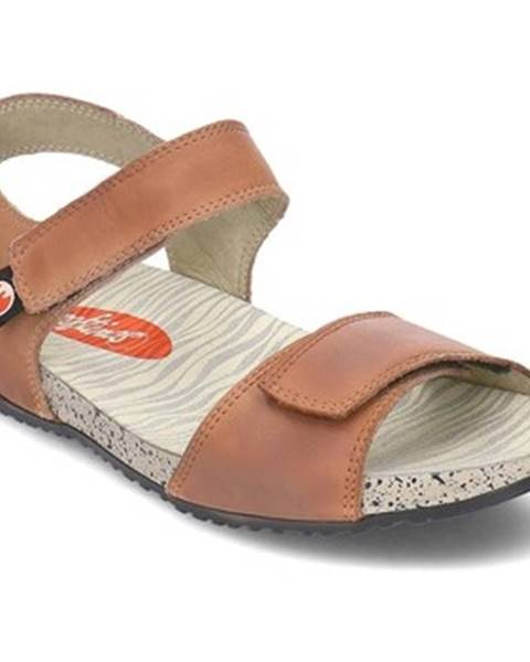 Hnedé topánky Softinos