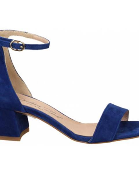 Modré topánky Andrea Zali