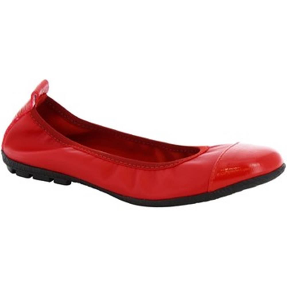 Leonardo Shoes Balerínky/Babies Leonardo Shoes  5620/SOSIA NAPPA ROSSO