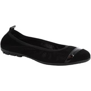 Balerínky/Babies Leonardo Shoes  5621 T/SOSIA CROSTA NERO