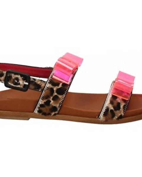 Hnedé topánky 181