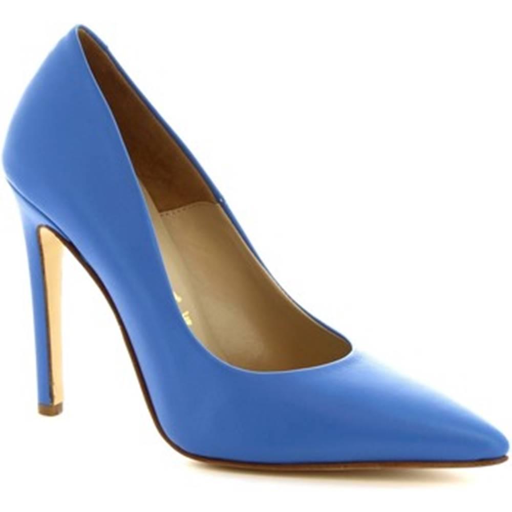 Leonardo Shoes Lodičky Leonardo Shoes  206 NAPPA JEANS
