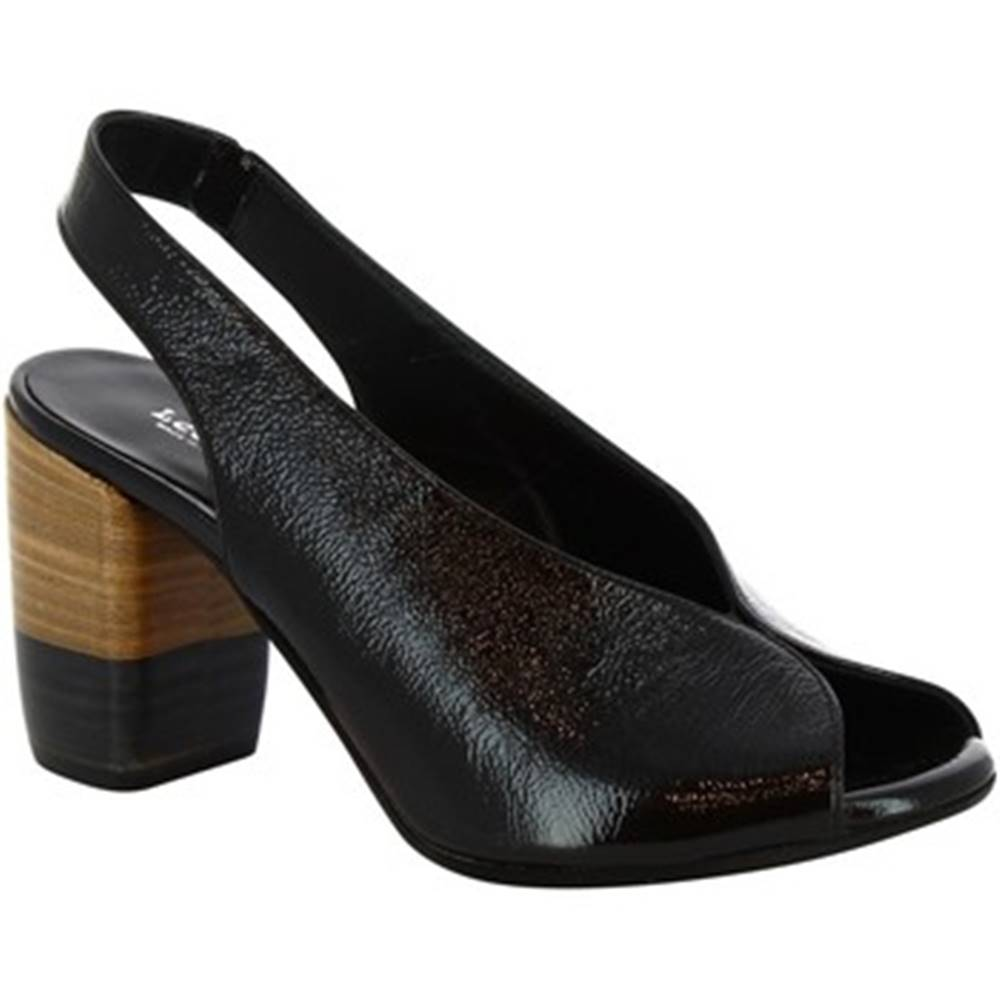 Leonardo Shoes Sandále  4673 NERO