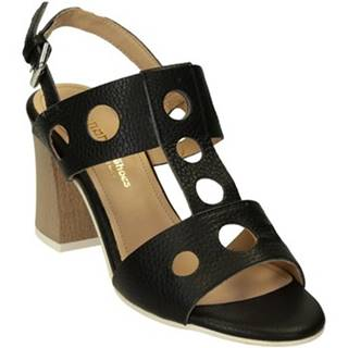 Sandále Leonardo Shoes  604/1 CERVO NERO