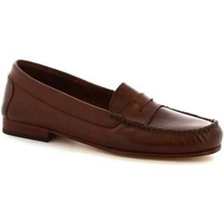 Balerínky/Babies Leonardo Shoes  2591 VITELLO T. MORO