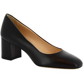 Lodičky Leonardo Shoes  T60 NAPPA NERO