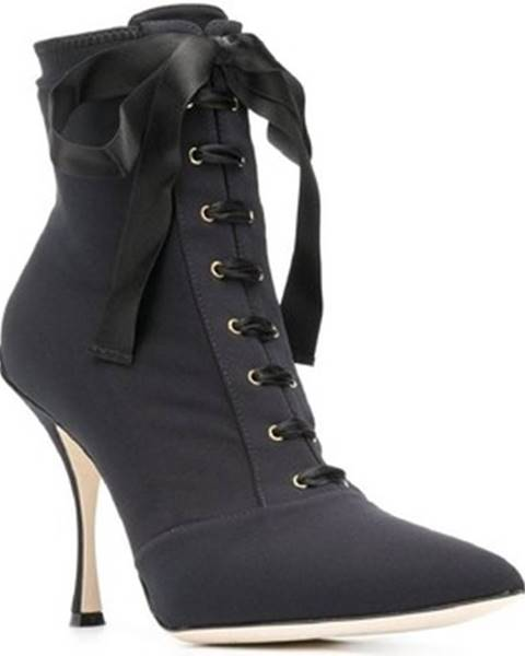 Čierne topánky D G
