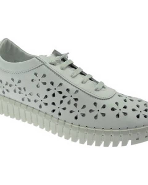 Biele topánky Nina Capri By Riposella