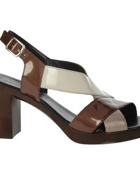 Viacfarebné topánky Romagnoli