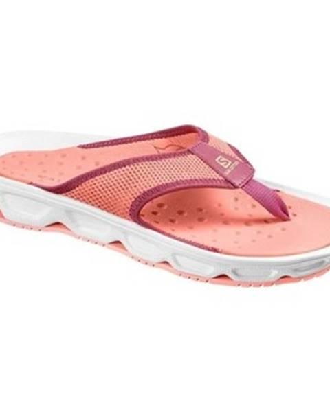 Oranžové topánky Salomon