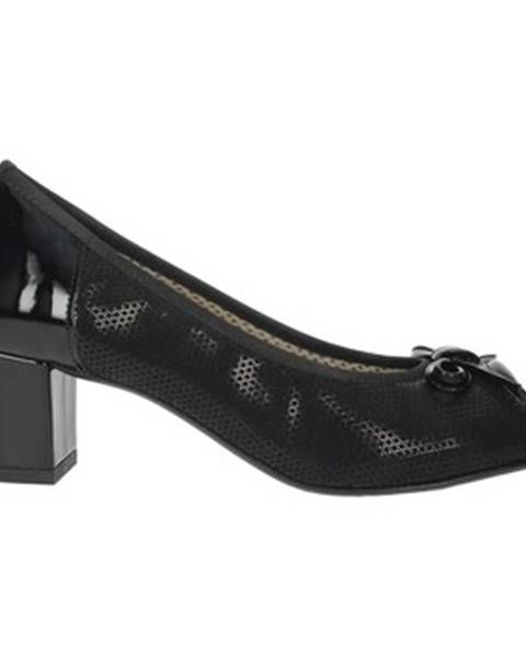 Čierne topánky Flexistep