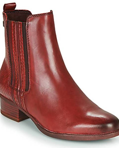 Bordové topánky Tamaris