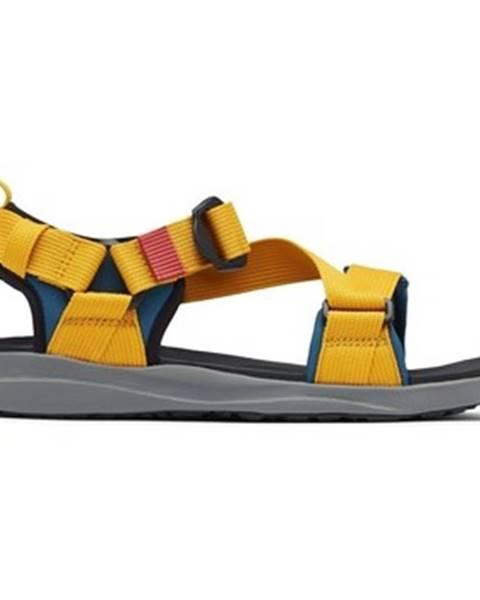 Žlté sandále Columbia