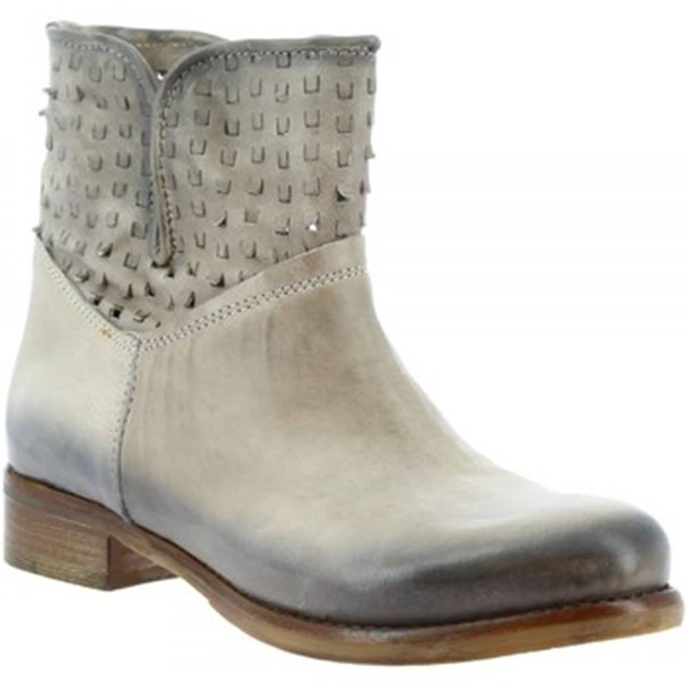 Leonardo Shoes Polokozačky Leonardo Shoes  K304 ANTIK VAPOR