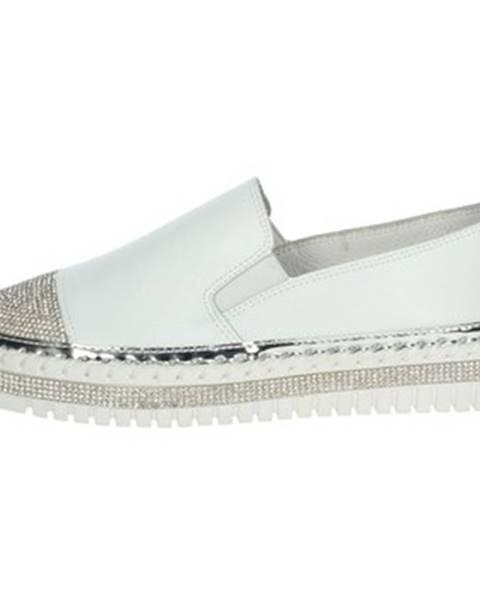 Biele topánky Nina Capri