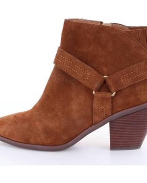 Hnedé topánky Emanuélle Vee