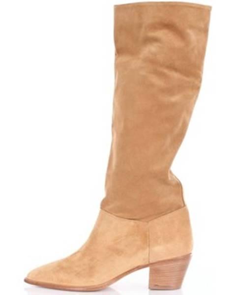 Béžové topánky Julie Dee