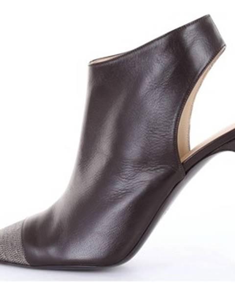 Čierne topánky Fabiana Filippi