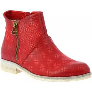 Čižmičky Leonardo Shoes  767215 ROSSO