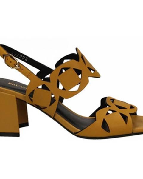 Žlté topánky Bruno Premi