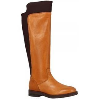 Čižmy do mesta Leonardo Shoes  5614/2 STIVALE RIOS CUOIO NAKAI
