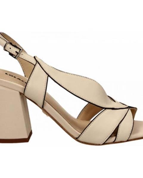 Biele topánky Lola Cruz