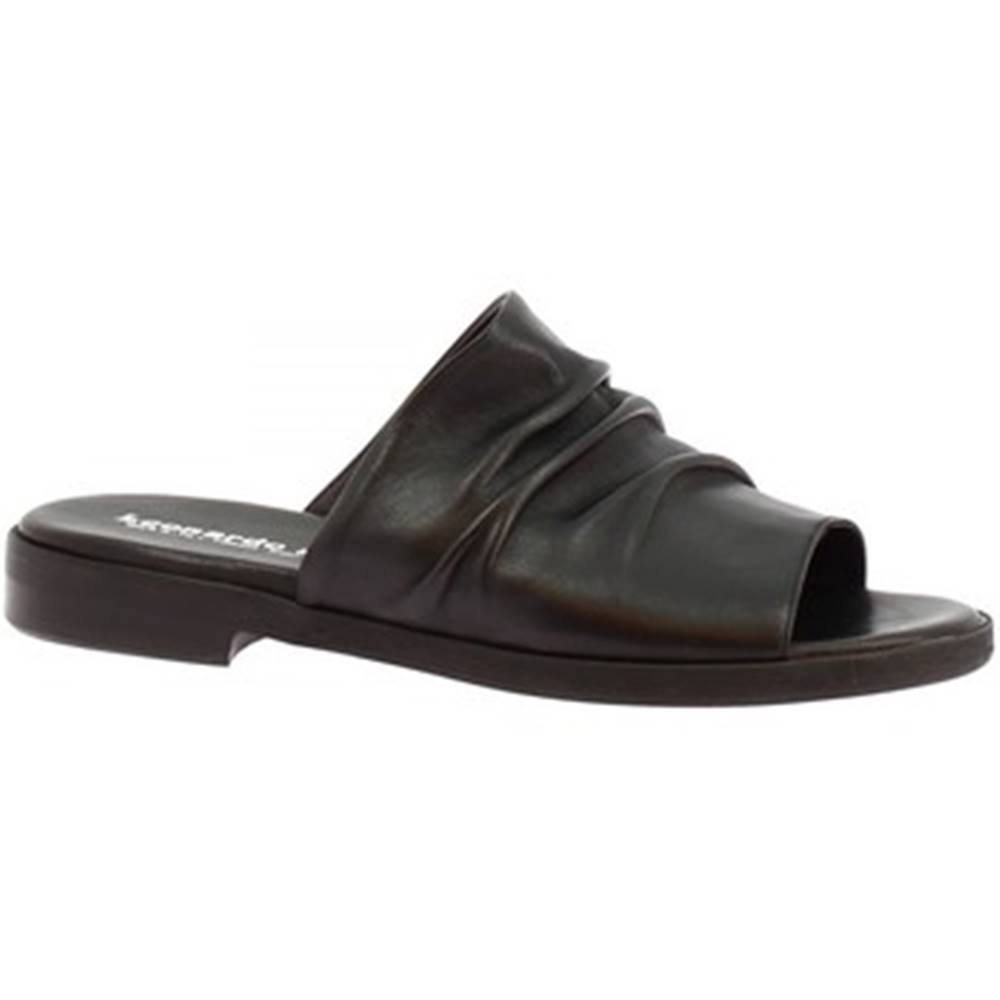 Leonardo Shoes Šľapky Leonardo Shoes  LISA 03 NAPPA NERO
