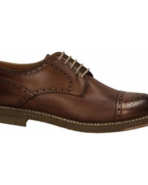 Hnedé topánky Franco Fedele