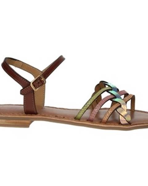 Viacfarebné topánky Nina Capri