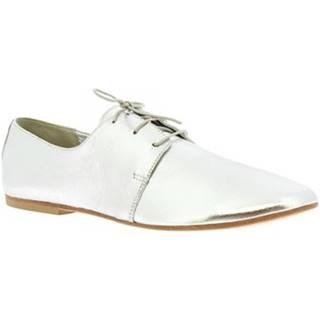 Derbie Leonardo Shoes  571-75 LAM. ARGENTO