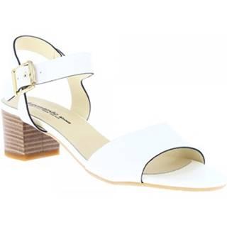 Sandále Leonardo Shoes  C 24 VACCH BIANCO