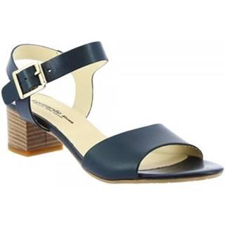 Sandále Leonardo Shoes  C 24 VACCH BLU