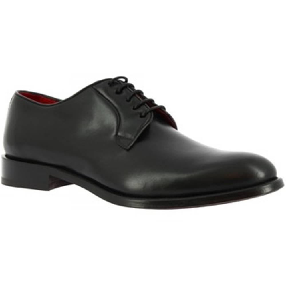 Leonardo Shoes Derbie  9469E20 TOM MONTECARLO NERO