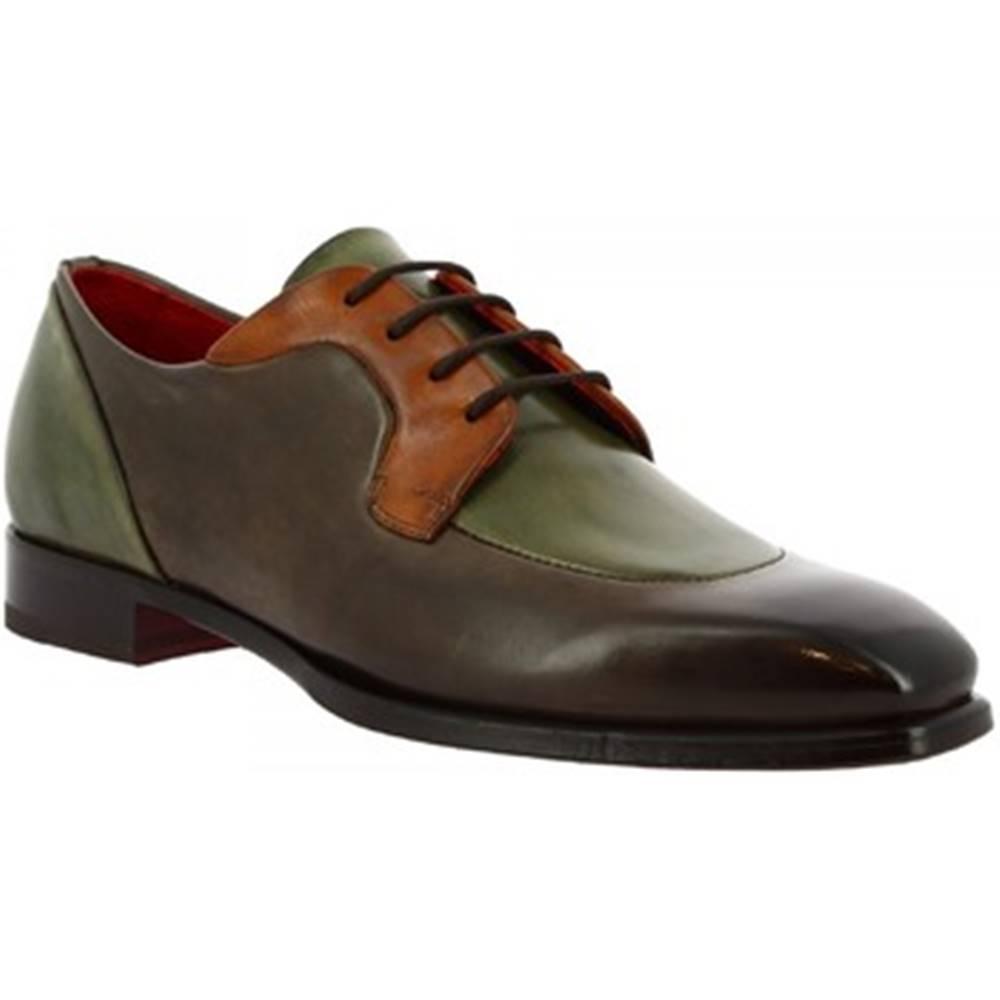 Leonardo Shoes Derbie  9563E20 TOM MONTECARLO DELAVE TAUBE
