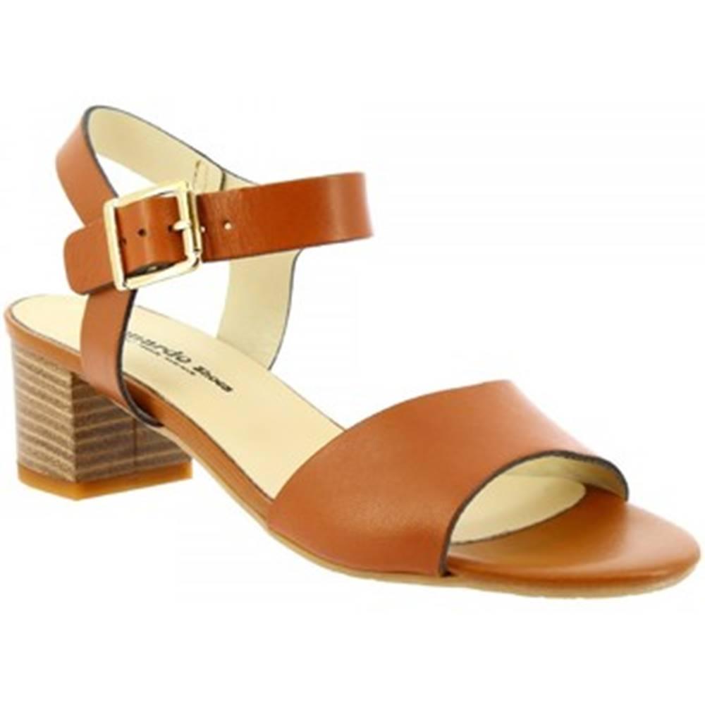 Leonardo Shoes Sandále Leonardo Shoes  C 24 VACCH CUOIO