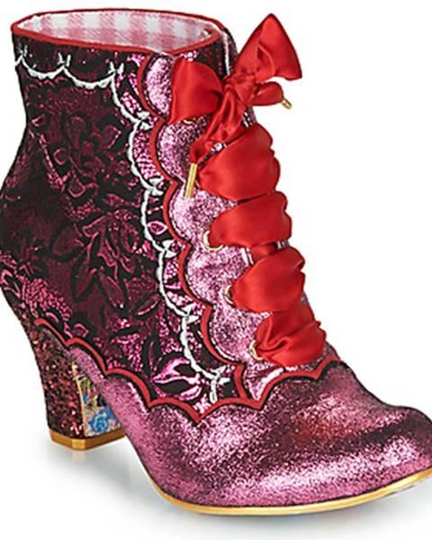 Ružové topánky Irregular Choice