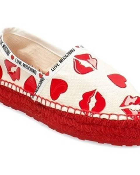 Viacfarebné topánky Love Moschino