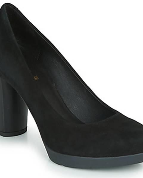 Čierne topánky Geox