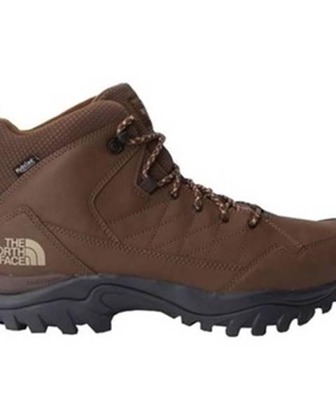 Hnedé topánky The North Face