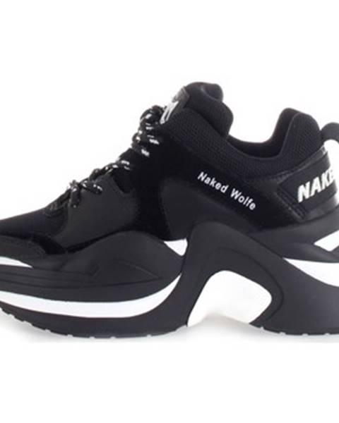 Čierne tenisky Naked Wolfe