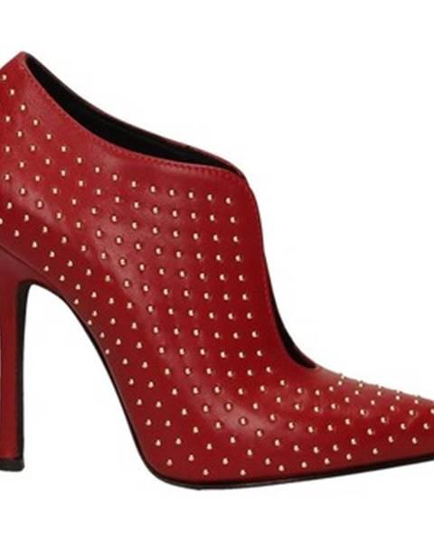 Červené čižmy Marc Ellis